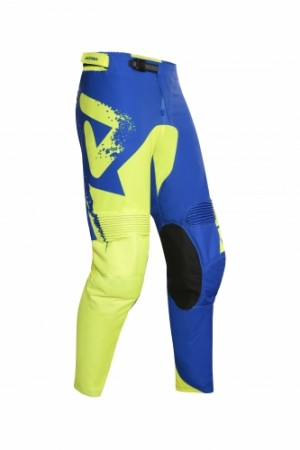 MX HYOGA  PANTS - BLUE/FLO YELLOW