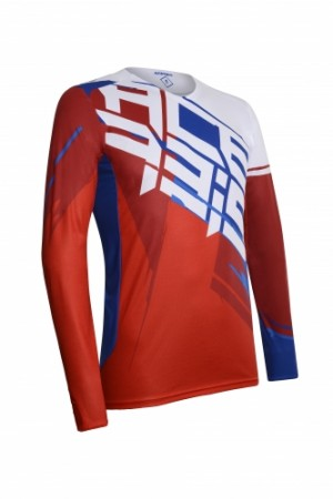 MX SHUN  JERSEY - BLUE/RED