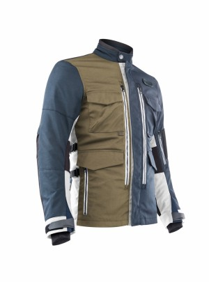 OTTANO ADVENTURING JACKET - BLUE/GREEN