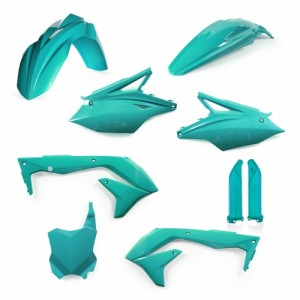 FULL KIT PLASTIC KAWASAKI KXF 450 2018 - TEAL GREEN