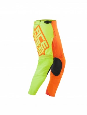 MX ECPLISE PANTS - FLO YELLOW/ORANGE