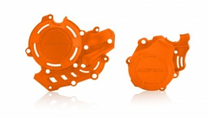 X-POWER KIT PROTECTOR KTM SXF 450 16/18 - HUSQ FC 450 16/18 - ORANGE