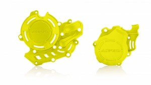 X-POWER KIT PROTECTOR KTM SXF 450 16/18 - HUSQ FC 450 16/18 - FLO YELLOW