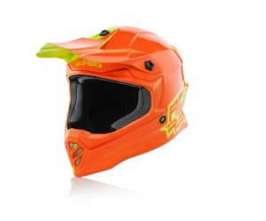 HELMET KID ECLIPSE - ORANGE/YELLOW