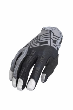 GLOVES MX-X-P BASIC - GREY/BLACK