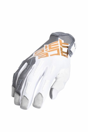 GLOVES MX-X-P BASIC - GREY/GOLD