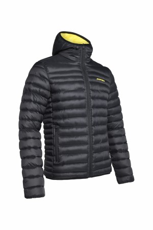 HILL 035 JACKET MAN - BLACK/YELLOW