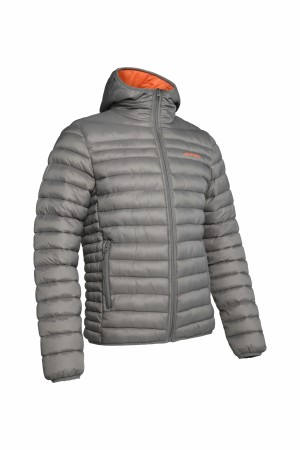 HILL 035 JACKET MAN - GREY/ORANGE