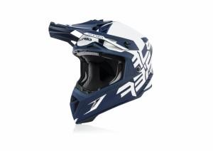 X-PRO VTR HELMET - WHITE/BLUE
