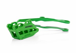 CHAIN GUIDES+CHAIN SLIDER KXF450 2019 - GREEN