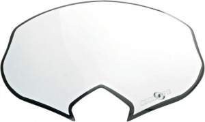 REPLACEMENT DECAL FOR HEADLIGHT CYCLOPE - WHITE