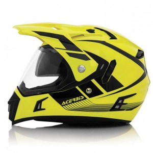 VISOR ACTIVE HELMET - YELLOW/BLACK