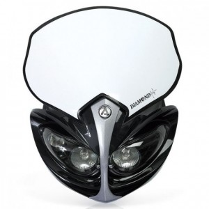 DIAMOND HEADLIGHT - BLACK