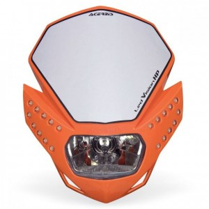 LED VISION HP HEADLIGHT - ORANGE