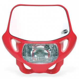 DHH CERTIFIED HEADLIGHT - RED