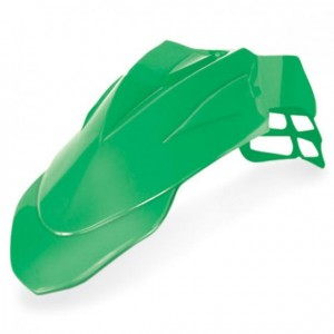 SUPERMOTARD FRONT FENDER - GREEN