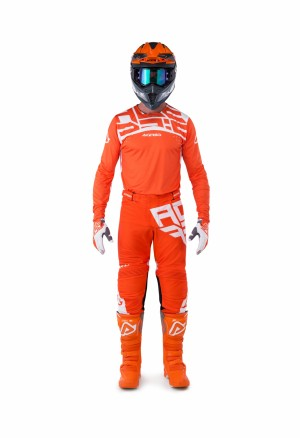 MX-X-FLEX ANDROMEDA SHIRT - ORANGE/WHITE