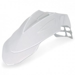 SUPERMOTARD FRONT FENDER - WHITE
