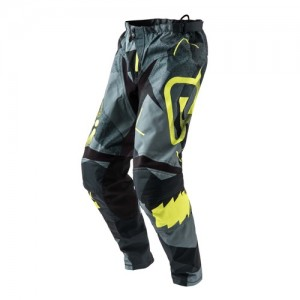 SATISFACTION MX PANTS - BLACK/GREY