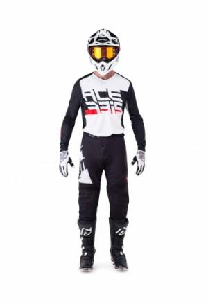 MX KAIRON SPECIAL SHIRT - WHITE/BLACK