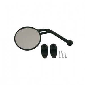 REAR VIEW MIRROR LEFT - BLACK
