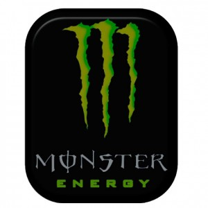 STICKER MONSTER Black 3D