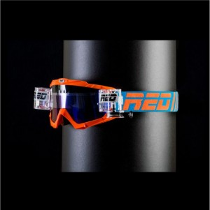 RED roll off goggles HURRICANE 115 - ORANGE