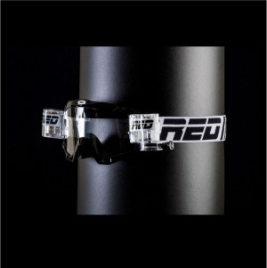 RED roll off goggles HURRICANE 115 - BLACK
