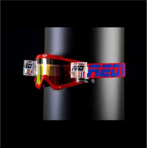 RED roll off goggles HURRICANE 115 - PATRIOT