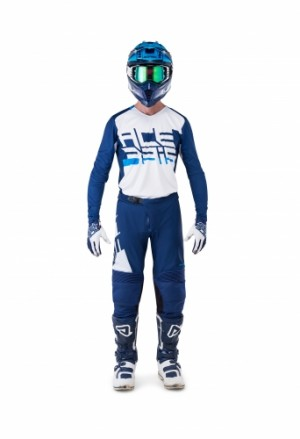 MX SASANSI SPECIAL PANTS - BLUE/WHITE