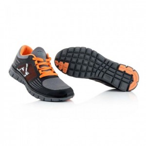 CORPORATE RUNNING SHOES - BLACK/ORANGE