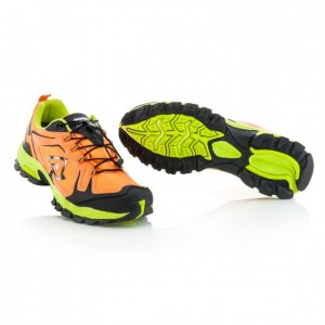TRAIL WR WATERPROOF SHOES - BLACK/ORANGE