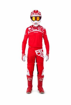 MX-X-FLEX VEGA SHIRT - RED/WHITE