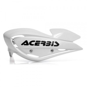 UNIKO ATV HANDGUARDS - WHITE