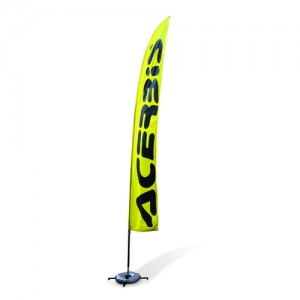 ACERBIS FLAG - YELLOW/BLACK