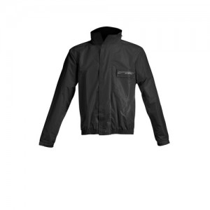 LOGO RAIN SUIT - BLACK