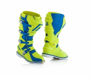 X-MOVE 2.0 BOOTS - FLO YELLOW/BLUE