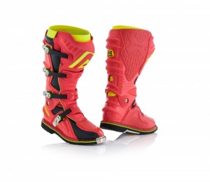 X-MOVE 2.0 BOOTS - RED/YELLOW