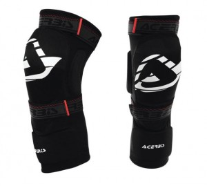 KNEE GUARD SOFT 2.0 JUNIOR - BLACK - ONE SIZE
