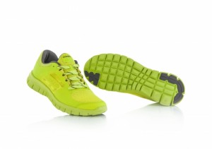 CORPORATE RUNNING SHOES - FLO YELLOW