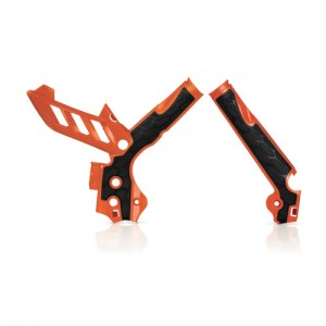 FRAME PROTECTOR X-GRIP KTM 2011-2015 - ORANGE