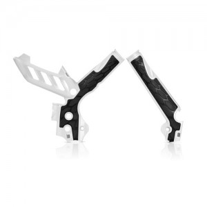 FRAME PROTECTOR X-GRIP KTM SX+SXF 11/15 + EXC+EXCF 12/16 - WHITE