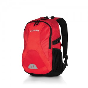 PROFILE BACKPACK - BLACK/RED
