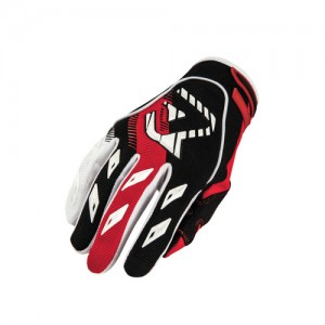 MX 1 OFF ROAD GLOVES - BLACK/RED