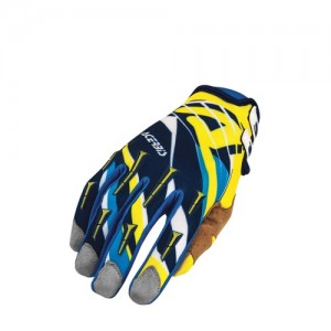 MX 2 OFF ROAD GLOVES - BLUE/YELLOW