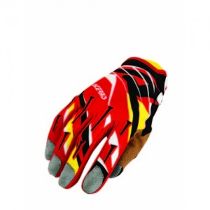 MX 2 OFF ROAD GLOVES - RED/YELLOW