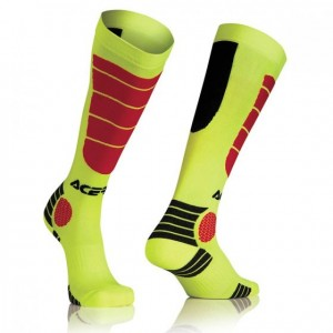 MX IMPACT SOCKS - YELLOW/RED