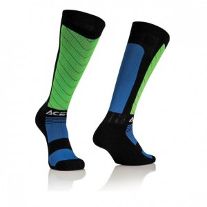 MX X-FLEX SOCKS - BLACK/BLUE