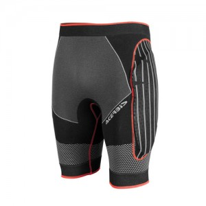 X-FIT PROTECTION SHORT PANTS - BLACK