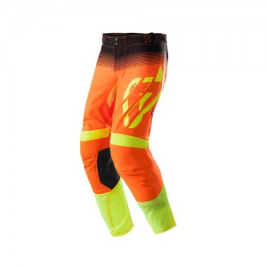 PANTS MX X-FLEX - BLACK/ORANGE